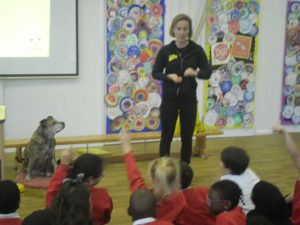 Year 3 enthusiastically learning about dogs!